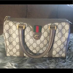 Vintage Gucci Ophidia Boston Bag
